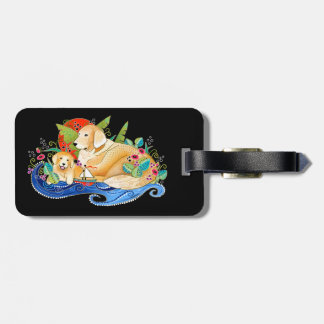 BINDI GOLDEN RETRIEVER LUGGAGE TAG