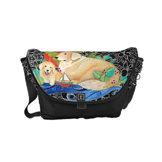 BINDI Golden Retriever Messenger bag - 3 sizes