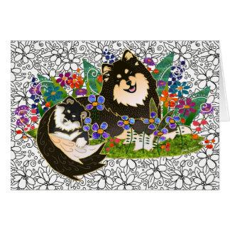 BINDI LAPPY Finnish Lapphund art cards
