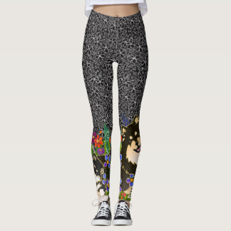BINDI LAPPY Finnish Lapphund designer leggings