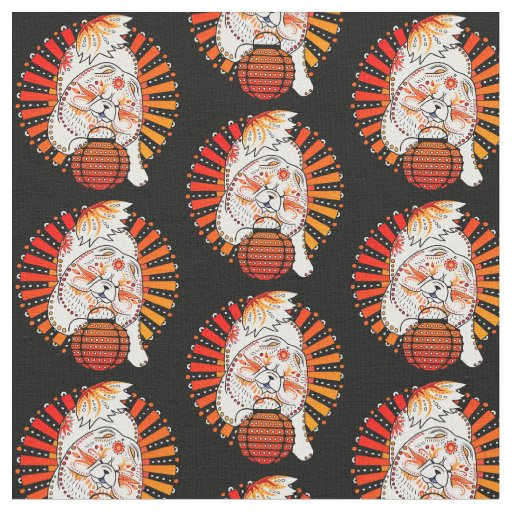 BINDI MI TANG -  Chow - Year of the Dog fabric