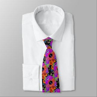 BINDI ROUGH CHOW - designer necktie