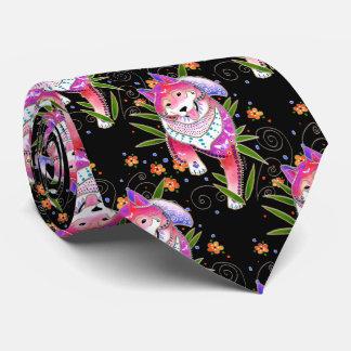 BINDI SHIBA INU - designer necktie