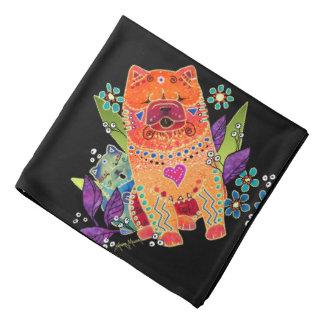 BINDI smooth chow bandana for human or canines