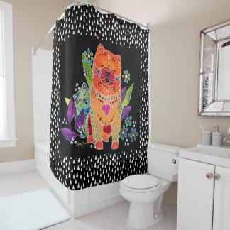 BINDI SMOOTHIE shower curtain