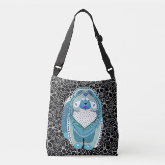BINDI SOPHIE (blue)  crossbody bag or tote