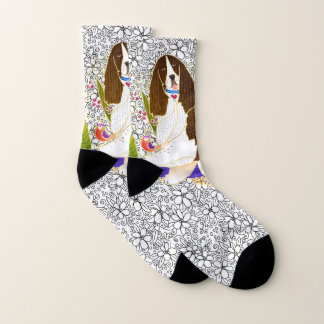 BINDI SPRINGER SPANIEL  socks 1