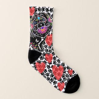 BINDI SUGARSKULL Chow and hearts - Socks