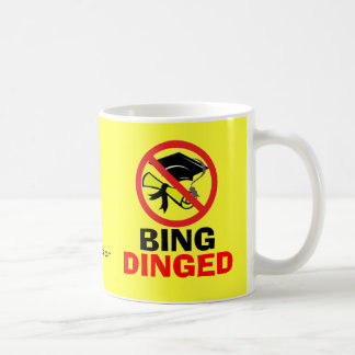 BING DINGED COFFEE MUG
