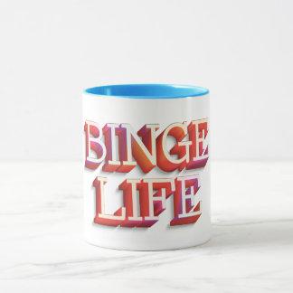 """""""Binge Life"""" 11 oz Combo Mug"""