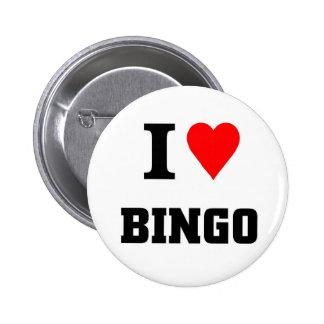 Bingo 6 Cm Round Badge