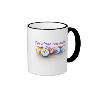 Bingo Addict's ringer mug
