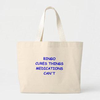bingo canvas bags