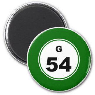 Bingo Ball G Magnet