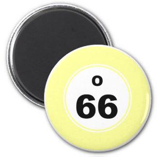 Bingo Ball O Magnet