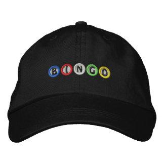 Bingo Balls Embroidered Hat