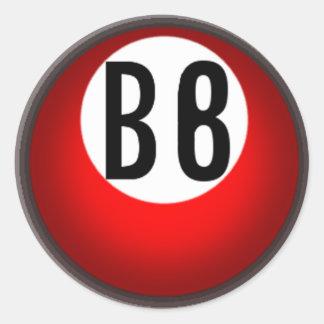 Bingo Beasts Stickers