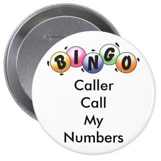 BINGO Button Caller Call My Numbers