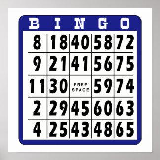 Bingo Card 8 Poster