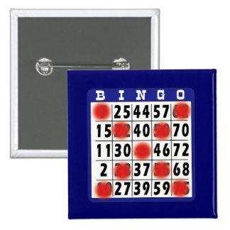 Bingo Card - Button