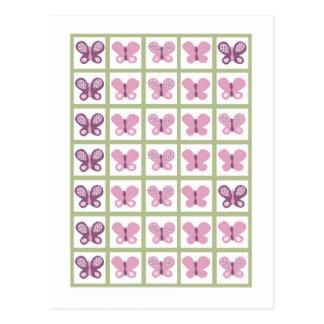 Bingo Card Markers Sugar Plum Butterfly