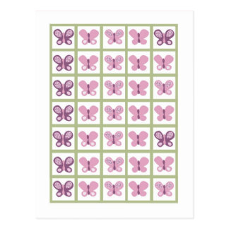 Bingo Card Markers Sugar Plum Butterfly Post Card