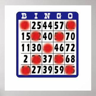 Bingo Card - Poster