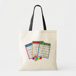 Bingo Cards Budget Tote Bag
