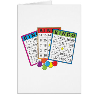 Bingo Cards Greeting Cards