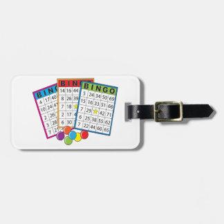 Bingo Cards Luggage Tag