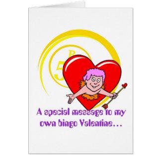 Bingo cards - Valentine