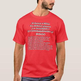Bingo Commandments T-Shirt