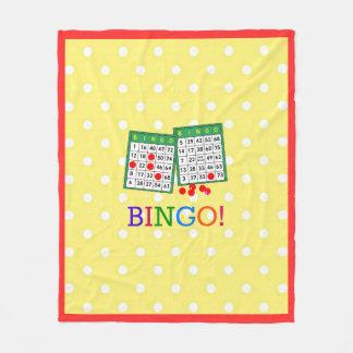 Bingo! Fleece Blanket