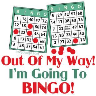 Bingo Quotes Crafts Party Supplies Zazzlecomau