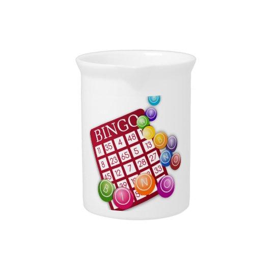 Bingo Game Beverage Pitchers