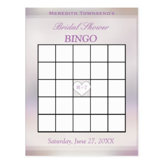 Bingo Game | Tree of Life Postcard