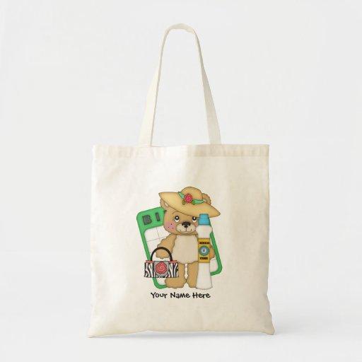 Bingo Grandma (customizable) Tote Bags