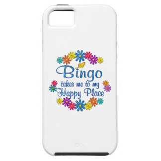 Bingo Happy Place iPhone 5 Covers