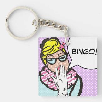 BINGO Keychain Acrylic Key Chain