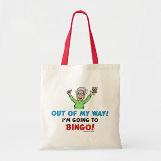 Bingo Lovers Budget Tote Bag