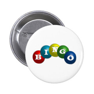 Bingo or Lotto - option to personalize your gear. 6 Cm Round Badge