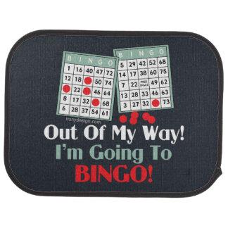 Bingo Players Car Mat