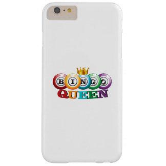 Bingo Queen Bingo Player Gift Funny Barely There iPhone 6 Plus Case