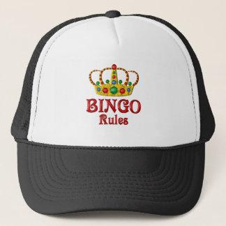 BINGO RULES TRUCKER HAT
