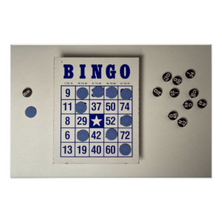 Bingo the gambling game poster
