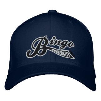 Bingo University Forward Swish Flex-Fit Cap Embroidered Hat