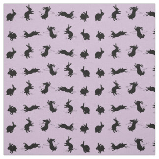 Binky Bunnies Fabric (Dusty Pink)