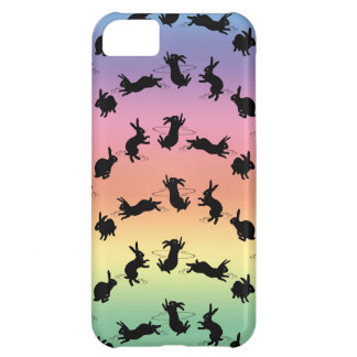 Binky Bunnies iPhone 5 Case (Rainbow)