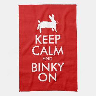 BINKY ON! TEA TOWEL