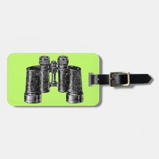 Binocular Pop Art Luggage Tag